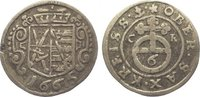 6 Pfennig 1665  CR Sachsen-Albertinische Linie Johann Georg II. 1656-16... 45,00 EUR  zzgl. 5,00 EUR Versand