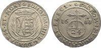 1/24 Taler 1688 Sachsen-Albertinische Linie Johann Georg III. 1680-1691... 75,00 EUR  zzgl. 5,00 EUR Versand