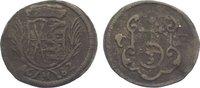 3 Pfennig 1682  CF Sachsen-Albertinische Linie Johann Georg III. 1680-1... 25,00 EUR  zzgl. 5,00 EUR Versand