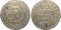 1/12 Taler 1694 Sachsen-Albertinische Linie Johann Georg IV. 1691-1694.... 20,00 EUR  zzgl. 5,00 EUR Versand
