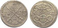 Dreier 1692  IK Sachsen-Albertinische Linie Johann Georg IV. 1691-1694.... 35,00 EUR  zzgl. 5,00 EUR Versand