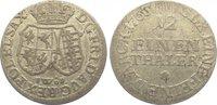 1/12 Taler 1763 Sachsen-Albertinische Linie Friedrich August II. 1733-1... 15,00 EUR  zzgl. 5,00 EUR Versand