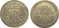 1/24 Taler 1753  L Sachsen-Albertinische Linie Friedrich August II. 173... 675,00 EUR kostenloser Versand