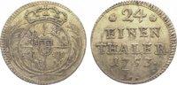 1/24 Taler 1753  L Sachsen-Albertinische Linie Friedrich August II. 173... 195,00 EUR  zzgl. 5,00 EUR Versand