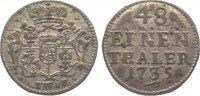 1/48 Taler 1735 Sachsen-Albertinische Linie Friedrich August II. 1733-1... 35,00 EUR  zzgl. 5,00 EUR Versand