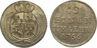1/48 Taler 1756 Sachsen-Albertinische Linie Friedrich August II. 1733-1... 145,00 EUR  zzgl. 5,00 EUR Versand