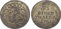 1/48 Taler 1761 Sachsen-Albertinische Linie Friedrich August II. 1733-1... 85,00 EUR  zzgl. 5,00 EUR Versand