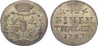 1/48 Taler 1763 Sachsen-Albertinische Linie Friedrich August II. 1733-1... 125,00 EUR  zzgl. 5,00 EUR Versand