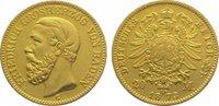 20 Mark Gold 1873  G Baden Friedrich I. 1856-1907. Sehr schön - vorzügl... 450,00 EUR kostenloser Versand