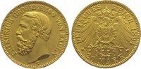20 Mark Gold 1894  G Baden Friedrich I. 1856-1907. Vorzüglich  485,00 EUR kostenloser Versand