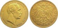 10 Mark Gold 1890  A Mecklenburg-Schwerin Friedrich Franz III. 1883-189... 1175,00 EUR kostenloser Versand