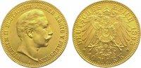 10 Mark Gold 1893  A Preußen Wilhelm II. 1888-1918. Vorzüglich  245,00 EUR  zzgl. 5,00 EUR Versand