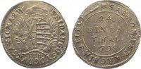 1/24 Taler 1698 Sachsen-Albertinische Linie Friedrich August I. 1694-17... 45,00 EUR  zzgl. 5,00 EUR Versand