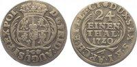 1/24 Taler 1720 Sachsen-Albertinische Linie Friedrich August I. 1694-17... 60,00 EUR  zzgl. 5,00 EUR Versand