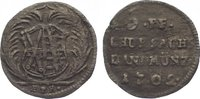 6 Pfennig 1702 Sachsen-Albertinische Linie Friedrich August I. 1694-173... 35,00 EUR  zzgl. 5,00 EUR Versand