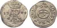 Pfennig 1708 Sachsen-Albertinische Linie Friedrich August I. 1694-1733.... 165,00 EUR  zzgl. 5,00 EUR Versand