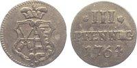 3 Pfennig 1764 Sachsen-Albertinische Linie Friedrich August III. 1763-1... 30,00 EUR  zzgl. 5,00 EUR Versand