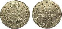 1/24 Taler 1798 Sachsen-Albertinische Linie Friedrich August III. 1763-... 125,00 EUR  zzgl. 5,00 EUR Versand