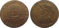 Cu Halfpenny 1794 Großbritannien-Hampshire Emsworth. Vorzüglich  65,00 EUR  zzgl. 5,00 EUR Versand