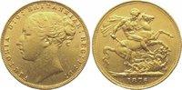 Sovereign Gold 1876 Großbritannien Victori...