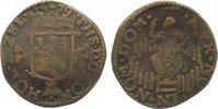 Cu Liard 1579 Niederlande-Holland, Grafschaft Philipp II. von Spanien 1... 65,00 EUR  zzgl. 5,00 EUR Versand