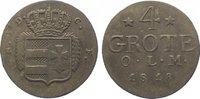 Oldenburg 4 Grote 1818 Sehr schön Peter Friedrich Wilhelm 1785-1823. 60,00 EUR  zzgl. 5,00 EUR Versand