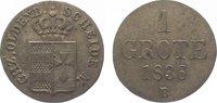 Oldenburg Grote 1836  B Sehr schön Paul Friedrich August 1829-1853. 15,00 EUR  zzgl. 5,00 EUR Versand