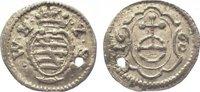 Sachsen-Neu-Weimar Pfennig 1660 Gelocht, sehr schön Wilhelm 1640-1662. 95,00 EUR  zzgl. 5,00 EUR Versand