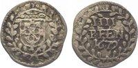 4 Pfennig 1679 Trier, Erzbistum Johann Hugo von Orsbeck 1676-1711. Fast... 20,00 EUR  zzgl. 5,00 EUR Versand