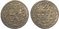 Hessen-Darmstadt 2 Kreuzer 1744 Sehr schön + Ludwig VIII. 1739-1768. 10,00 EUR  zzgl. 5,00 EUR Versand