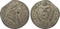 6 Kreuzer 1682 Römisch Deutsches Reich Leopold I. 1657-1705. Zainende, ... 25,00 EUR  zzgl. 5,00 EUR Versand