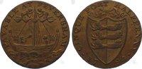 Cu Halfpenny 1794 Großbritannien-Kent Faversham. Vorzüglich  75,00 EUR  zzgl. 5,00 EUR Versand