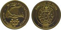 10 Pa'anga Gold 2003 Tonga Topou IV. seit 1965. Polierte Platte  69,00 EUR  zzgl. 5,00 EUR Versand