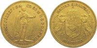 10 Korona Gold 1893 Ungarn Franz Josef I. 1848-1916. Sehr schön  150,00 EUR  zzgl. 5,00 EUR Versand