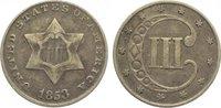 3 Cents 1853 Vereinigte Staaten von Amerika  Sehr schön  40,00 EUR  zzgl. 5,00 EUR Versand