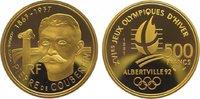 500 Francs Gold 1991 Frankreich Fünfte Republik seit 1959. Polierte Pla... 725,00 EUR kostenloser Versand