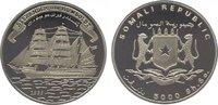 5000 Shillings 1998 Somalia Republik. Ab 1950. Polierte Platte  14,00 EUR  zzgl. 5,00 EUR Versand