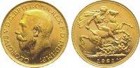 Pound Gold 1921  P Australien Georg V. 1910-1936. Fast Stempelglanz  375,00 EUR kostenloser Versand