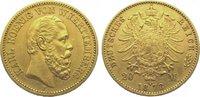 20 Mark Gold 1873  F Württemberg Karl 1864-1891. Sehr schön - vorzüglic... 395,00 EUR kostenloser Versand