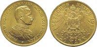 20 Mark Gold 1914  A Preußen Wilhelm II. 1888-1918. Vorzüglich - Stempe... 395,00 EUR kostenloser Versand
