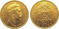 20 Mark Gold 1908  A Preußen Wilhelm II. 1888-1918. Vorzüglich  325,00 EUR kostenloser Versand