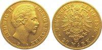20 Mark Gold 1876  D Bayern Ludwig II. 1864-1886. Sehr schön - vorzügli... 445,00 EUR kostenloser Versand