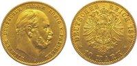 10 Mark Gold 1877  A Preußen Wilhelm I. 1861-1888. Sehr schön - vorzügl... 225,00 EUR  zzgl. 5,00 EUR Versand