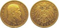 10 Mark Gold 1903  F Württemberg Wilhelm II. 1891-1918. Vorzüglich  295,00 EUR kostenloser Versand