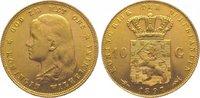 10 Gulden Gold 1897 Niederlande-Königreich Wilhelmina 1890-1948. Vorzüg... 265,00 EUR kostenloser Versand
