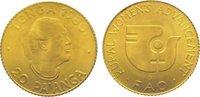 20 Pa'anga Gold 1980 Tonga Topou IV. seit 1965. Vorzüglich - Stempelgla... 55,00 EUR  zzgl. 5,00 EUR Versand
