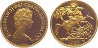 Two Pounds Gold 1980 Großbritannien Elizabeth II. Seit 1952. Polierte P... 685,00 EUR kostenloser Versand