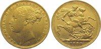 Sovereign Gold 1880  S Australien Victoria 1837-1901. Sehr schön  345,00 EUR kostenloser Versand