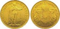 10 Korona Gold 1909 Ungarn Franz Josef I. 1848-1916. Sehr schön - vorzü... 135,00 EUR  zzgl. 5,00 EUR Versand