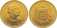 Libra Gold 1964 Peru Republik seit 1821/1825. Stempelglanz  375,00 EUR kostenloser Versand